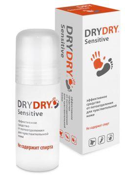 Dry Dry Sensitive средство от обильного потовыделения, 50 мл, 1 шт.