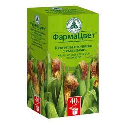Кукурузы столбики с рыльцами, сырье растительное измельченное, 40 г, 1 шт.
