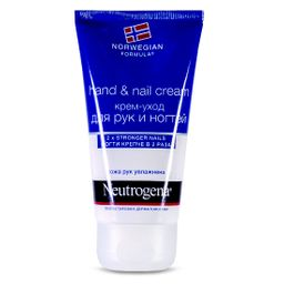 Neutrogena Норвежская формула Крем-уход для рук и ногтей, крем для рук, 75 мл, 1 шт.