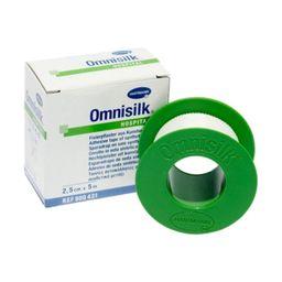Omnisilk Пластырь фиксирующий, 5мх2.5см, пластырь медицинский, шелковая основа, 1 шт.