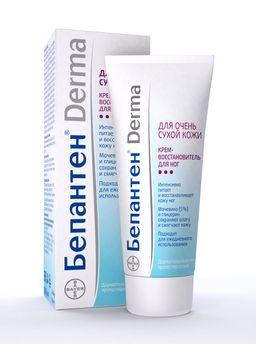 Бепантен Derma Крем-восстановитель для ног, крем для ног, 100 мл, 1 шт.