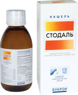 Стодаль, сироп гомеопатический, 200 мл, 1 шт.