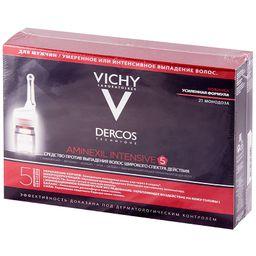 Vichy Dercos Aminexil средство против выпадения волос для мужчин, мужские, 21 шт.