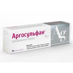 Аргосульфан, 2%, крем для наружного применения, 15 г, 1 шт.