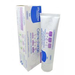 Mustela крем под подгузник 1 2 3, крем для наружного применения, 50 мл, 1 шт.