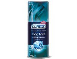 Гель-смазка Contex Long Love, гель, продлевающие половой акт, 100 мл, 1 шт.