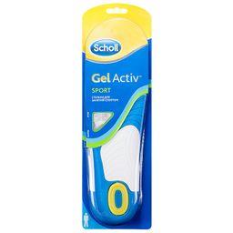 Scholl GelActiv стельки для занятий спортом мужские, мужские, 2 шт.