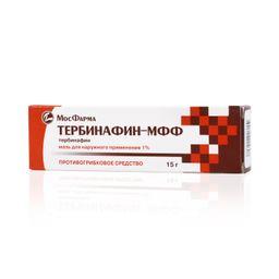 Тербинафин-МФФ, 1%, мазь для наружного применения, 15 г, 1 шт.