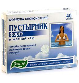 Пустырник Форте, 0.55, таблетки, 40 шт.