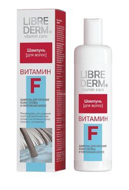Librederm Шампунь Витамин F, шампунь, 250 мл, 1 шт.