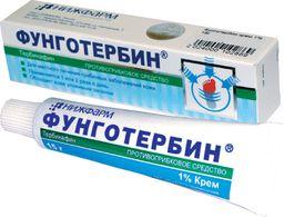Фунготербин, 1%, крем для наружного применения, 15 г, 1 шт.
