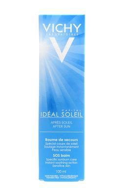Vichy Capital Ideal Soleil бальзам после солнечных ожогов, бальзам для тела, 100 мл, 1 шт.