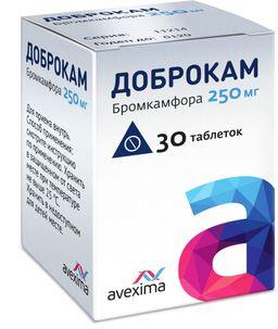 Доброкам, 250 мг, таблетки, 30 шт.