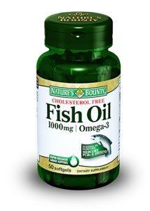 Natures Bounty Рыбий жир 1000 мг Омега-3, 1000 мг, капсулы, 50 шт.