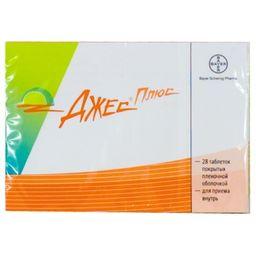 Джес Плюс, набор таблеток, таблетки, покрытые пленочной оболочкой, 28 шт.