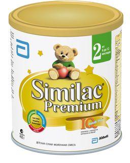 Similac Premium 2, смесь молочная сухая, для детей от 6 до 12 месяцев, 400 г, 1 шт.