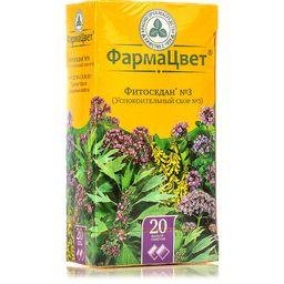 Фитоседан №3 (успокоительный сбор №3), сырье растительное-порошок, 2 г, 20 шт.