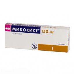 Микосист, 150 мг, капсулы, 1 шт.