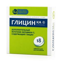 Глицин Ка, таблетки для рассасывания, 18 шт.