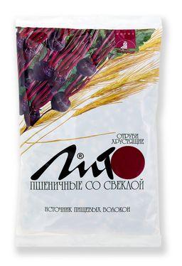 Отруби пшеничные хрустящие Лито с кальцием и свеклой, гранулы, 200 г, 1 шт.
