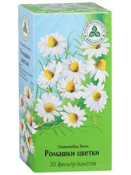 Ромашки цветки, сырье растительное-порошок с гранулами, 1.5 г, 20 шт.