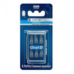 Oral-B interdental ершики межзубные сменные конические, для межзубной щетки, 6 шт.