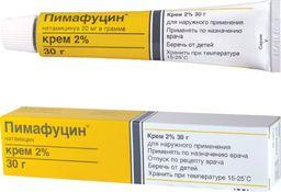 Пимафуцин, 2%, крем для наружного применения, 30 г, 1 шт.