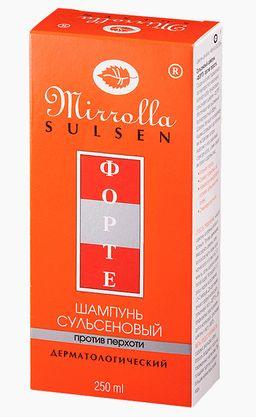 Mirolla Сульсен Форте Шампунь сульсеновый против перхоти, 2%, шампунь, 250 мл, 1 шт.