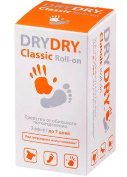 Dry Dry Classic Roll-on средство от обильного потовыделения, део-ролик, 35 мл, 1 шт.