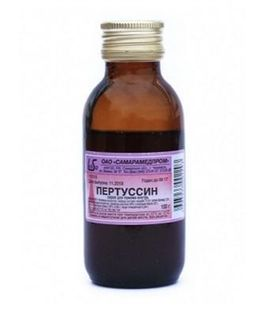 Пертуссин, сироп, 100 г, 1 шт.