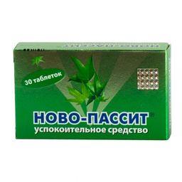 Ново-Пассит, таблетки, покрытые пленочной оболочкой, 30 шт.