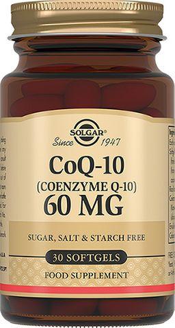 Solgar Коэнзим Q10-60 мг, капсулы, 30 шт.