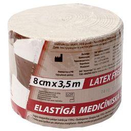 Бинты эластичные медицинские, 3,5мх8см, высокой растяжимости, 1 шт.