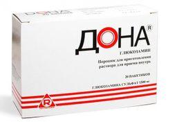 Дона, 1.5 г, порошок для приготовления раствора для приема внутрь, 20 шт.