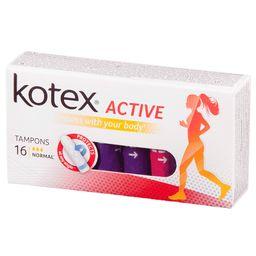 Kotex Active Normal тампоны женские гигиенические, 16 шт.