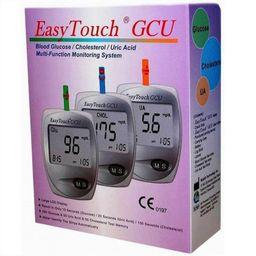 EasyTouch GCU анализатор крови Глюкоза Холестерин Мочевая кислота, 1 шт.
