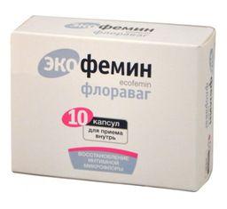 Экофемин Флораваг, 0.33 г, капсулы, 10 шт.