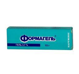 Формагель, 3.7%, гель для наружного применения, 15 г, 1 шт.