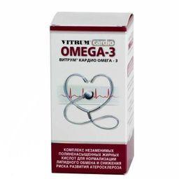 Витрум кардио Омега-3, капсулы, 60 шт.