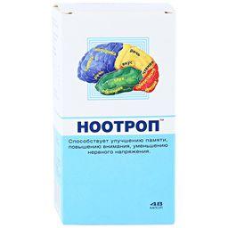 Ноотроп, 0.4 г, капсулы, 48 шт.
