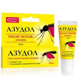 Азудол гель после укусов комаров, гель, 8 мл, 1 шт.