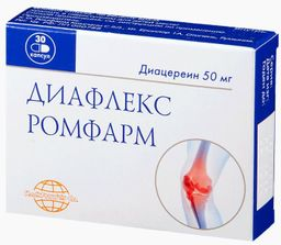 Диафлекс Ромфарм, 50 мг, капсулы, 30 шт.