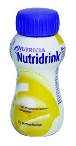 Nutridrink compact protein, жидкость для приема внутрь, со вкусом банана, 200 мл, 1 шт.