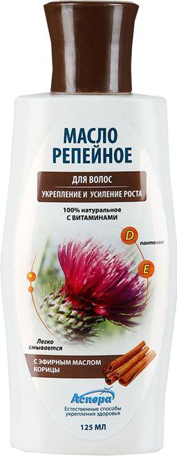 Масло репейное с эфирным маслом корицы, масло косметическое, 125 мл, 1 шт.