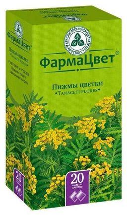 Пижмы цветки, сырье растительное-порошок, 1.5 г, 20 шт.