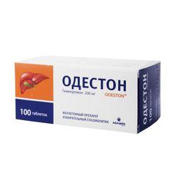 Одестон, 200 мг, таблетки, 100 шт.
