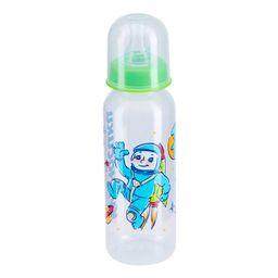 Курносики бутылочка с силиконовой соской 0+, 250 мл, арт. 11101, с рисунком, в ассортименте, с силиконовой соской, 1 шт.