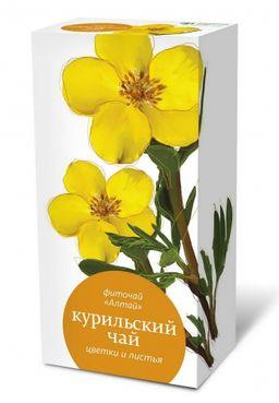 Фиточай Алтай Курильский чай цветки и листья, фиточай, 1.5 г, 20 шт.