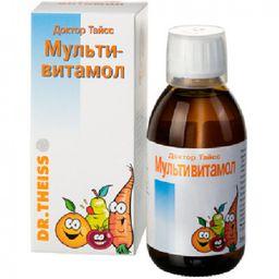 Доктор Тайсс Мультивитамол, раствор для приема внутрь, 200 мл, 1 шт.
