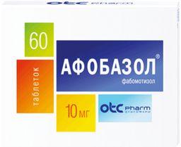 Афобазол, 10 мг, таблетки, 60 шт.